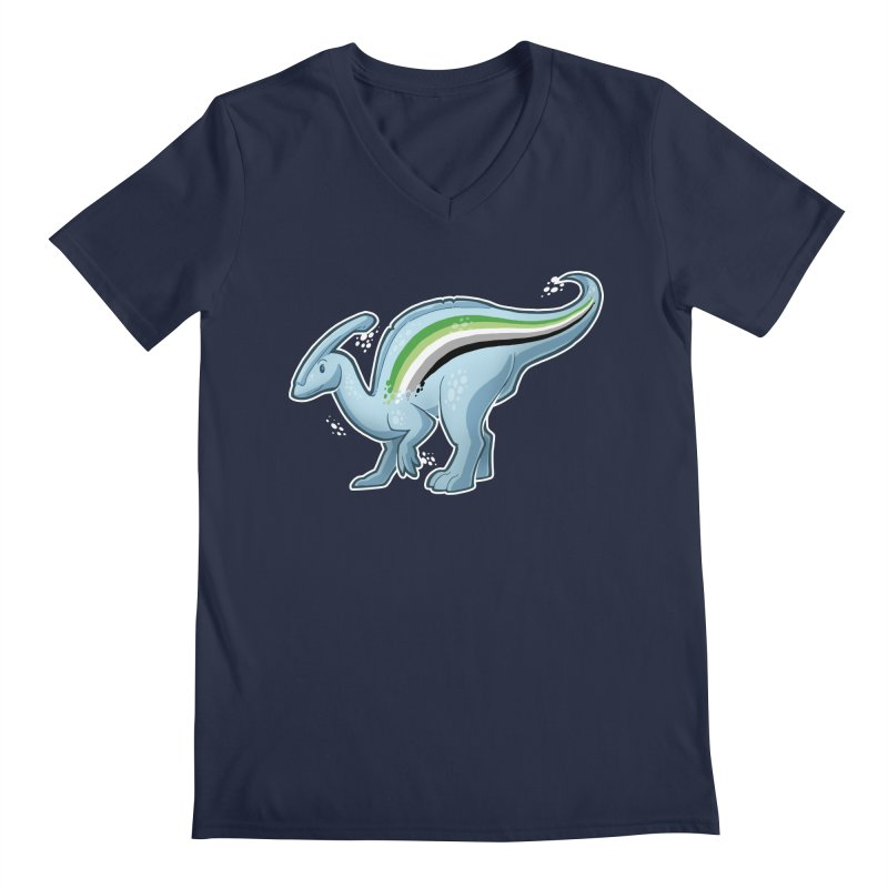 pAROsaurolophus Men's V-Neck by Marty's Artist Shop