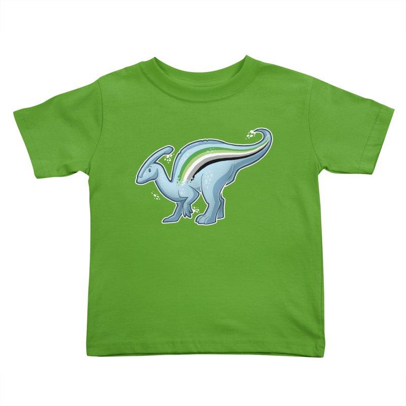 pAROsaurolophus Kids Toddler T-Shirt by Marty's Artist Shop