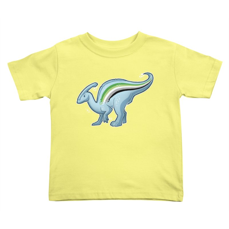 pAROsaurolophus Kids Toddler T-Shirt by Marty's Artist Shop