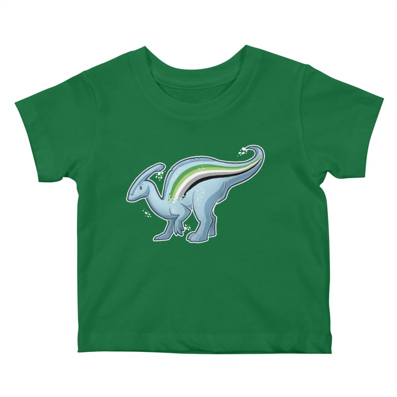 pAROsaurolophus Kids Baby T-Shirt by Marty's Artist Shop