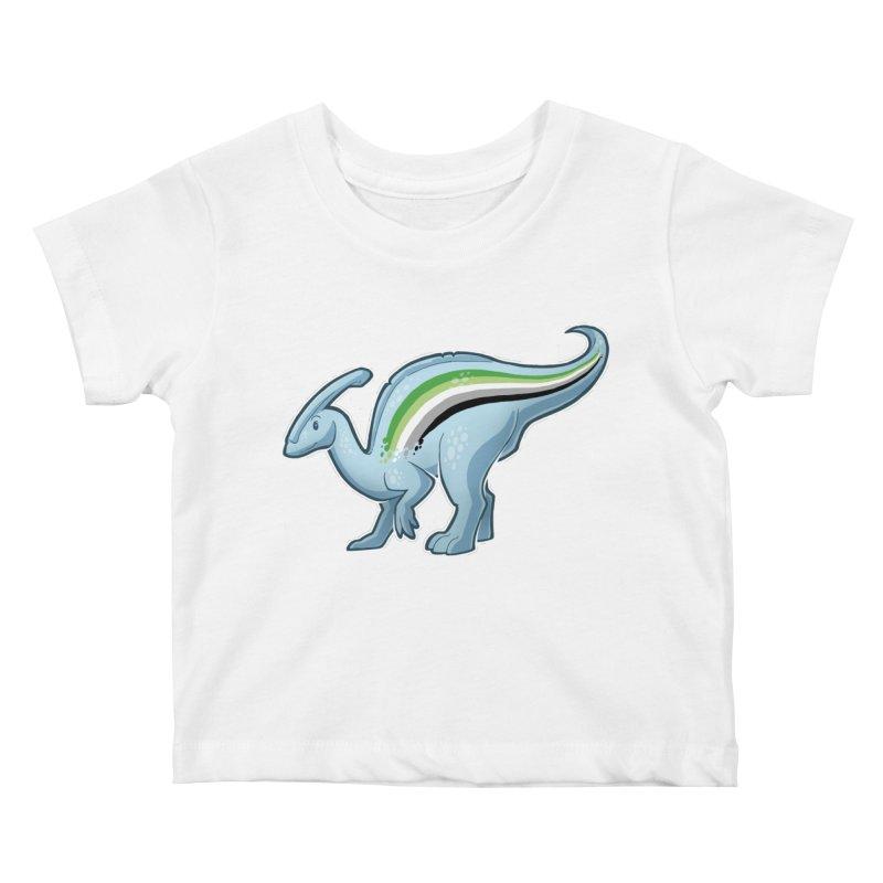 pAROsaurolophus Kids Baby T-Shirt by Marty's Artist Shop