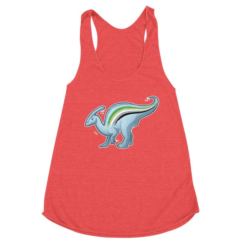 pAROsaurolophus Women's Tank by Marty's Artist Shop