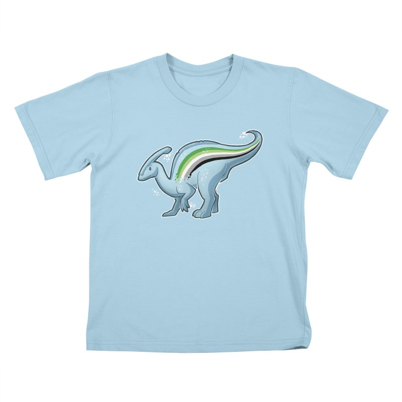 pAROsaurolophus Kids T-Shirt by Marty's Artist Shop