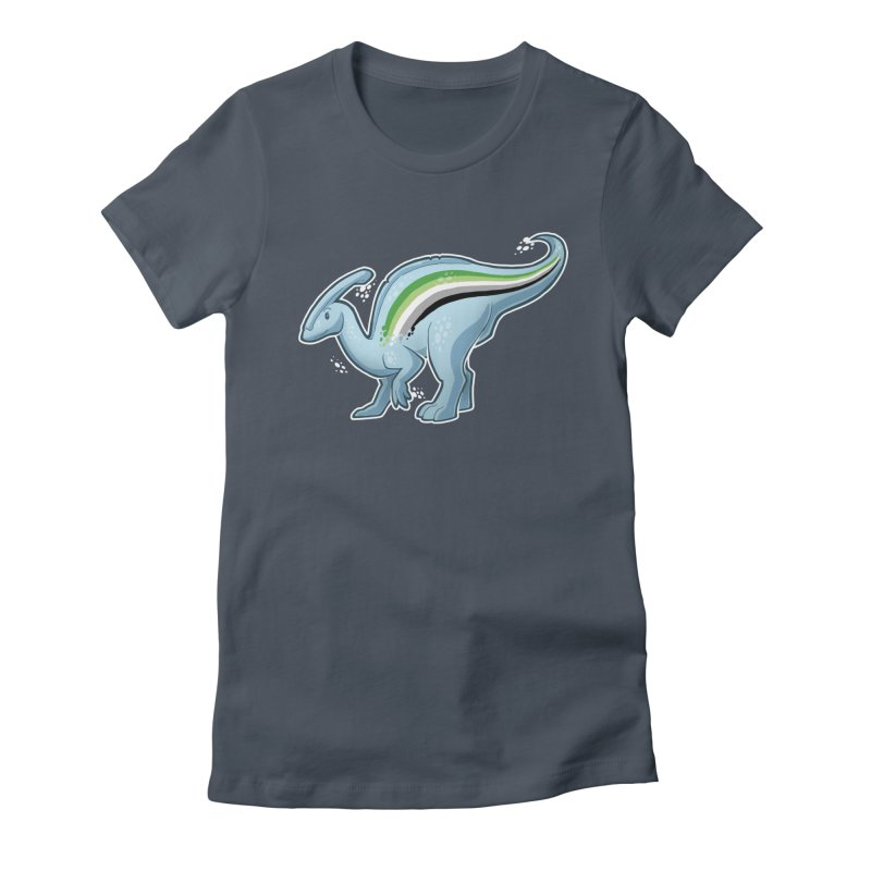 pAROsaurolophus Women's Fitted T-Shirt by Marty's Artist Shop