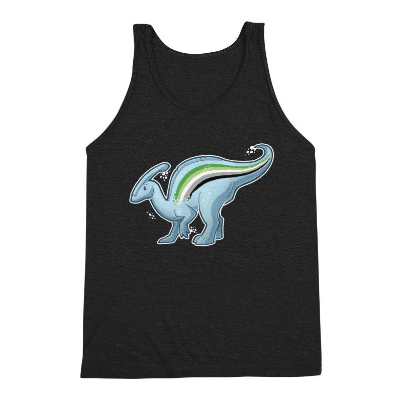 pAROsaurolophus Men's Triblend Tank by Marty's Artist Shop