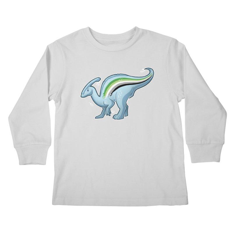 pAROsaurolophus Kids Longsleeve T-Shirt by Marty's Artist Shop