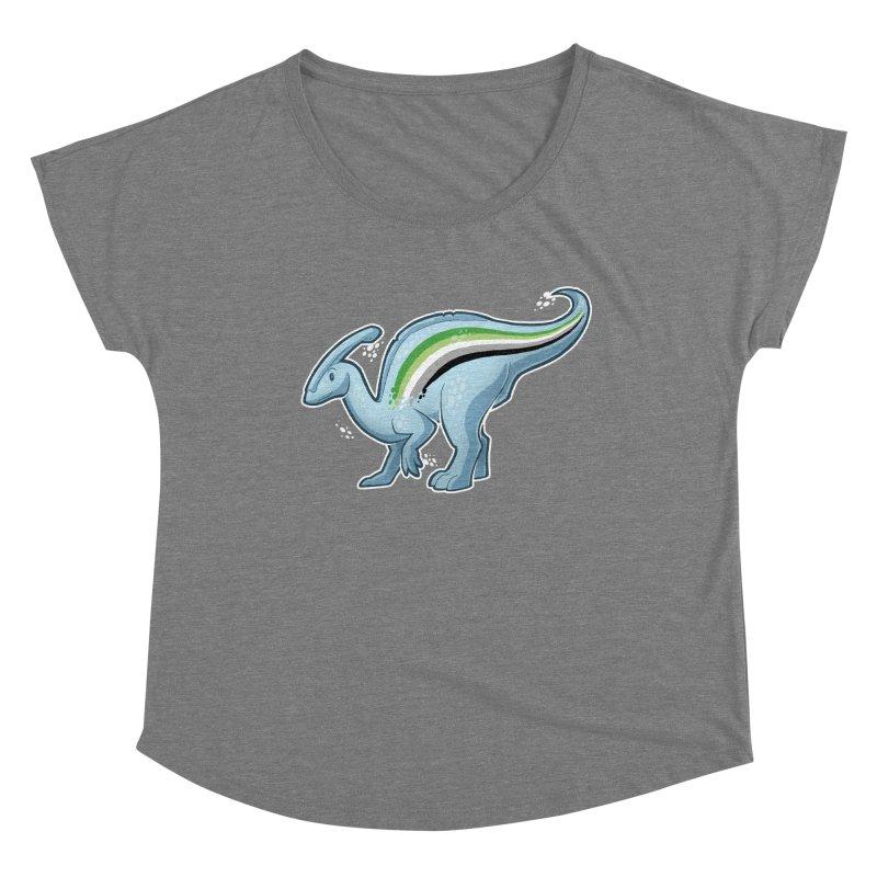 pAROsaurolophus Women's Scoop Neck by Marty's Artist Shop
