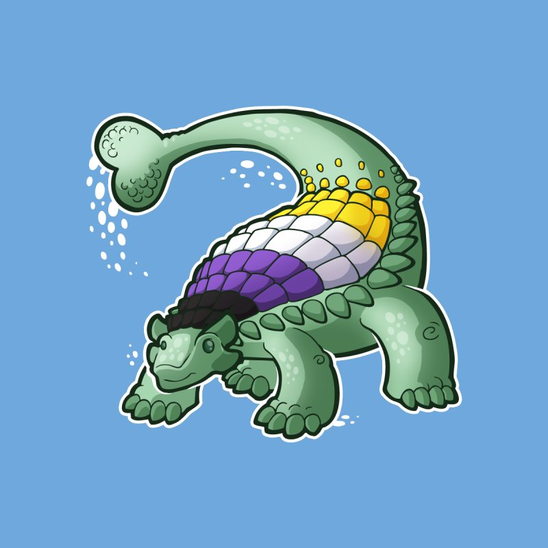 ENBYlosaurus by Marty's Artist Shop