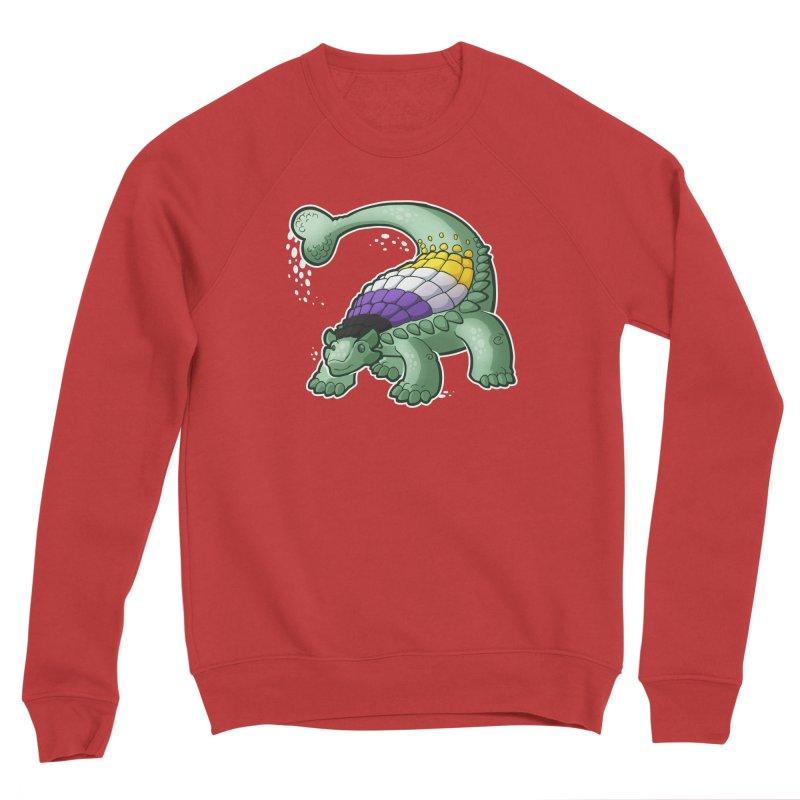 ENBYlosaurus Women's Sweatshirt by Marty's Artist Shop