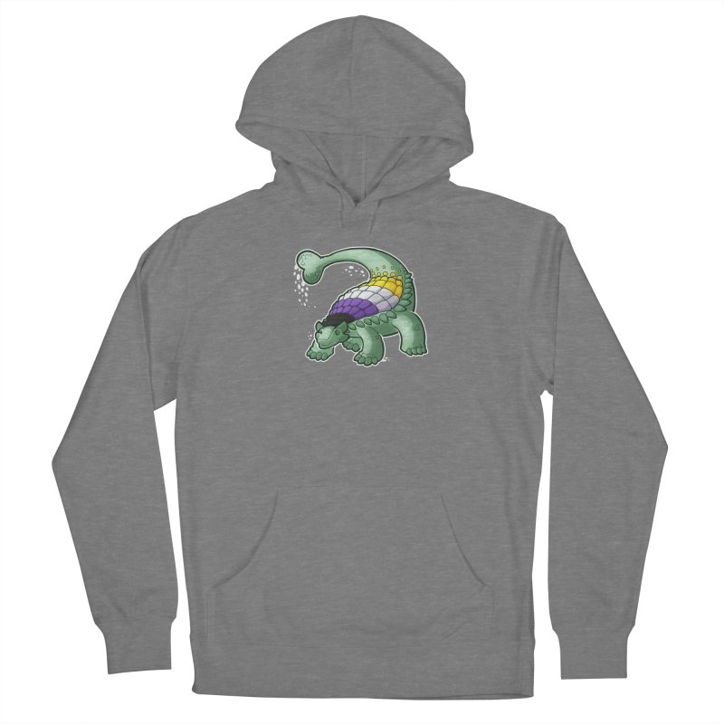 ENBYlosaurus Women's Pullover Hoody by Marty's Artist Shop