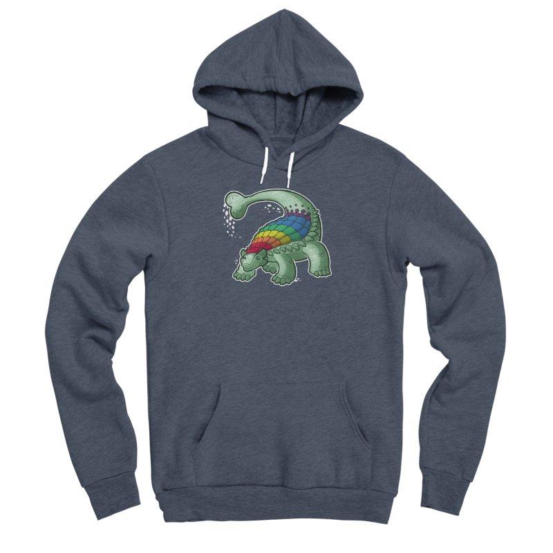 Ankylosaurus Pride Men's Pullover Hoody by Marty's Artist Shop