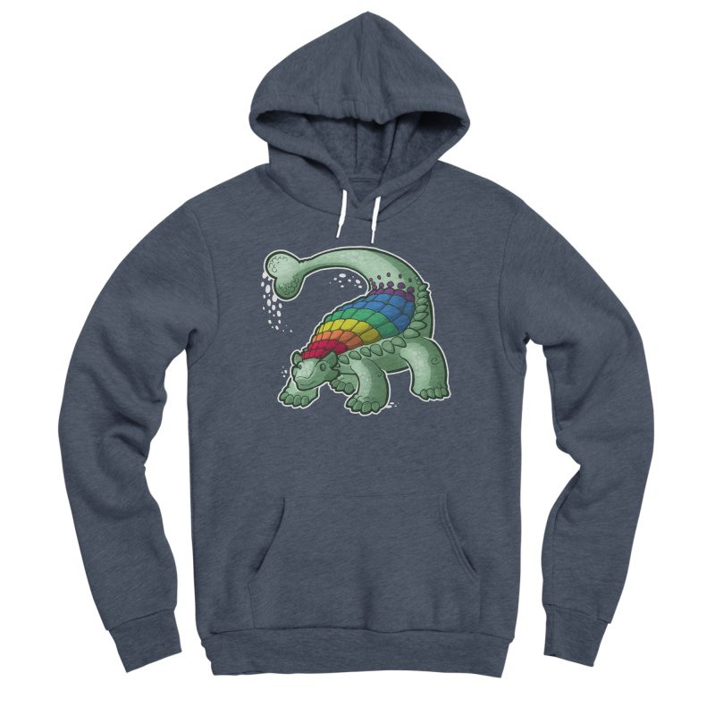 Ankylosaurus Pride Women's Sponge Fleece Pullover Hoody by Marty's Artist Shop