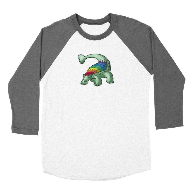 Ankylosaurus Pride Women's Longsleeve T-Shirt by Marty's Artist Shop