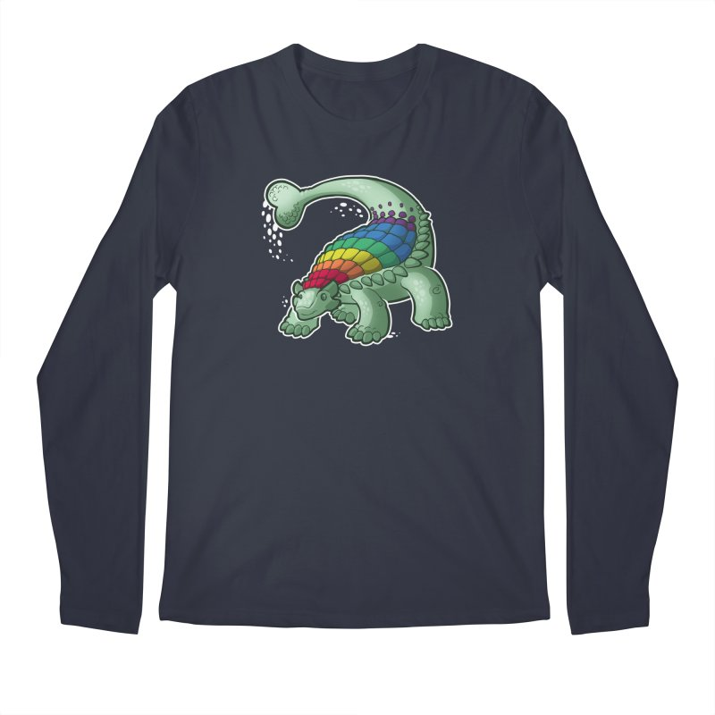 Ankylosaurus Pride Men's Regular Longsleeve T-Shirt by Marty's Artist Shop