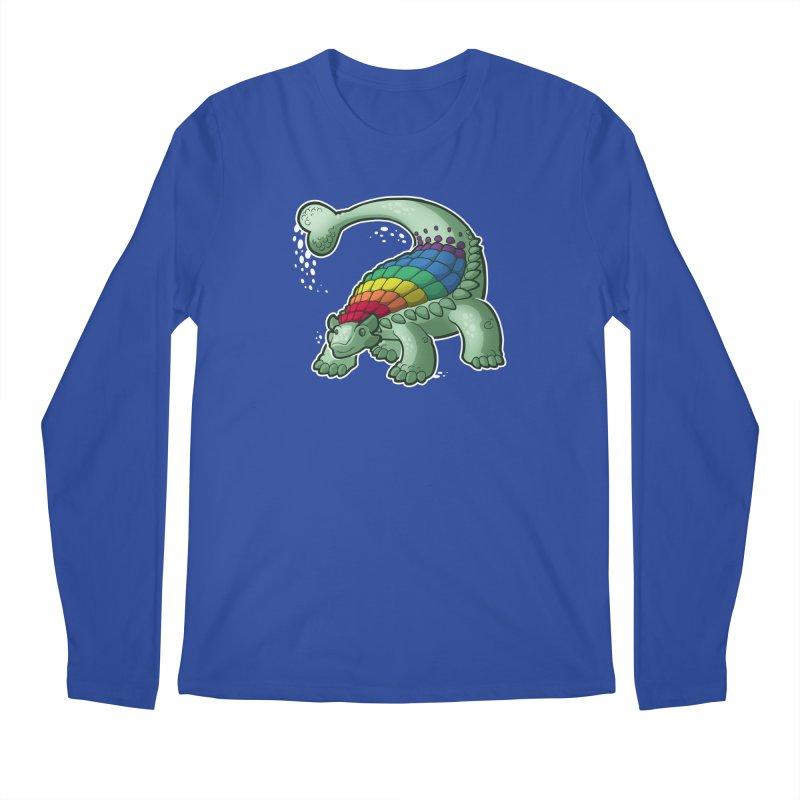 Ankylosaurus Pride Men's Regular Longsleeve T-Shirt by Marty's Artist Shop