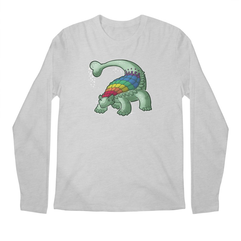 Ankylosaurus Pride Men's Longsleeve T-Shirt by Marty's Artist Shop