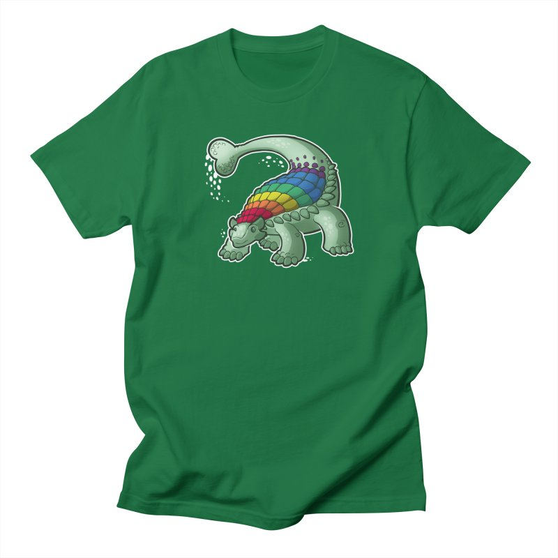 Ankylosaurus Pride Men's Regular T-Shirt by Marty's Artist Shop