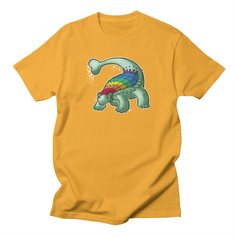 Ankylosaurus Pride Men's T-Shirt by Marty's Artist Shop