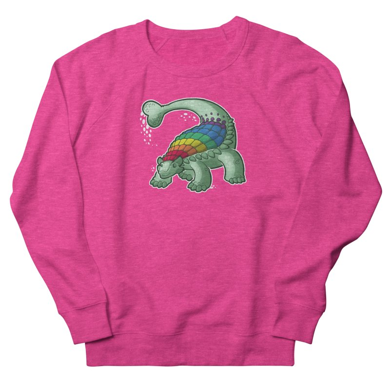 Ankylosaurus Pride Women's French Terry Sweatshirt by Marty's Artist Shop