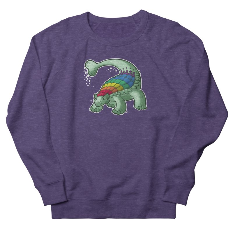 Ankylosaurus Pride Men's Sweatshirt by Marty's Artist Shop