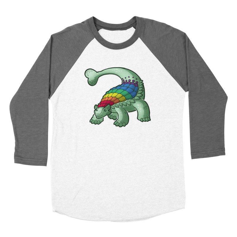 Ankylosaurus Pride Men's Baseball Triblend Longsleeve T-Shirt by Marty's Artist Shop