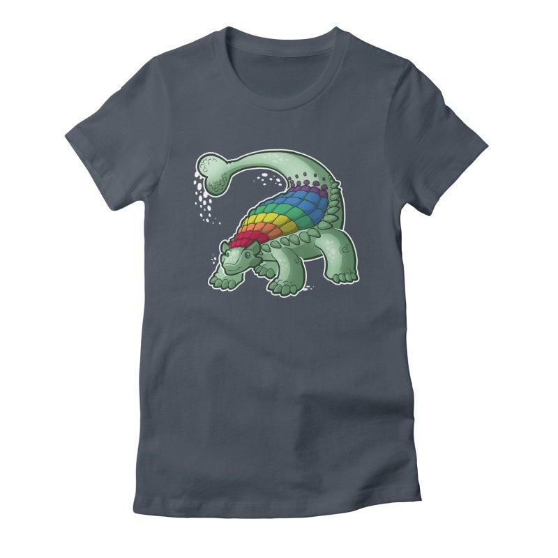 Ankylosaurus Pride Women's T-Shirt by Marty's Artist Shop