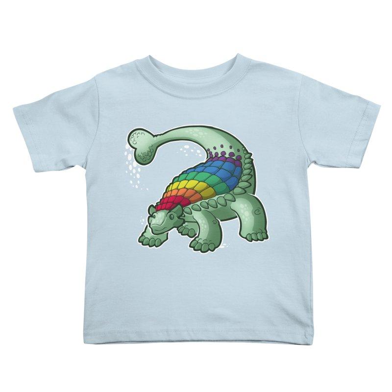Ankylosaurus Pride Kids Toddler T-Shirt by Marty's Artist Shop