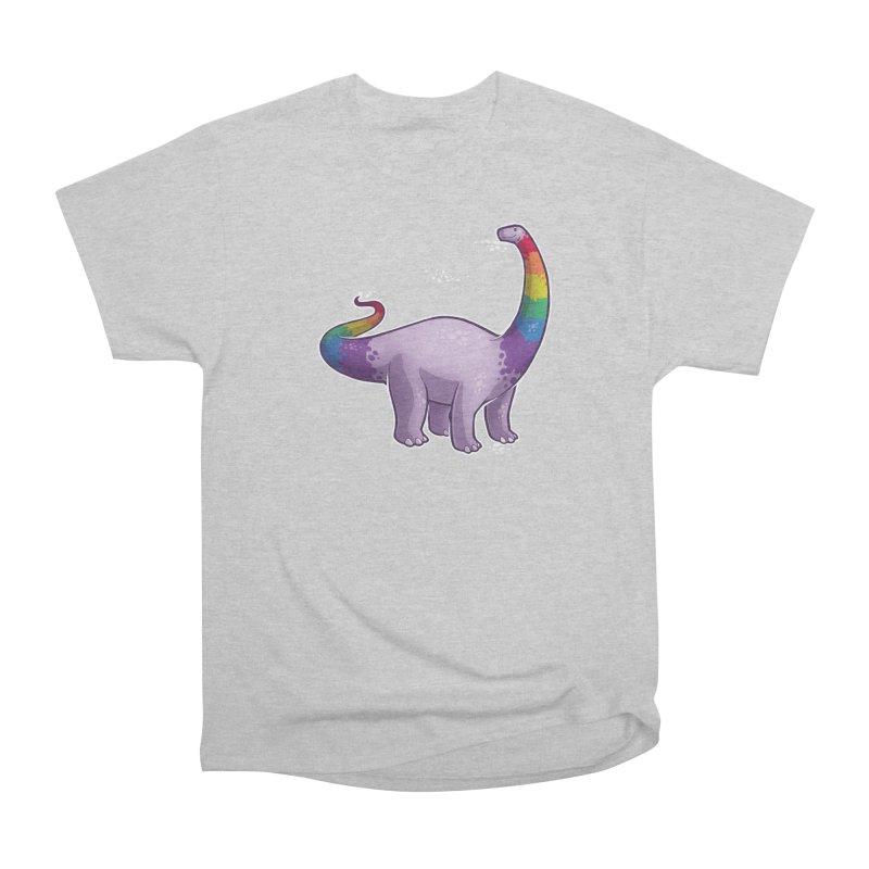 Brontosaurus Pride Men's T-Shirt by Marty's Artist Shop