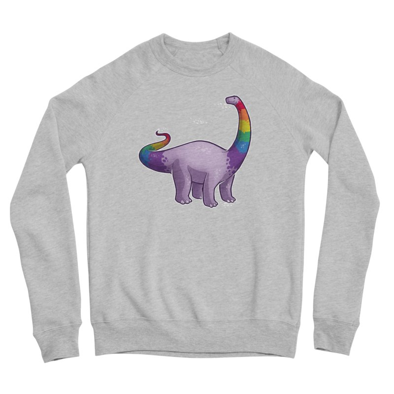 Brontosaurus Pride Women's Sponge Fleece Sweatshirt by Marty's Artist Shop