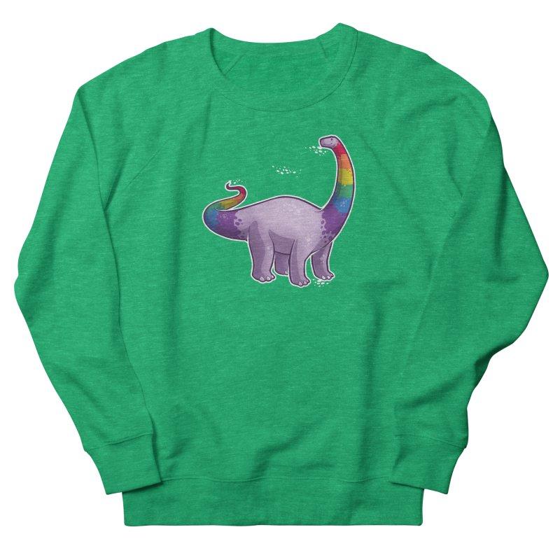 Brontosaurus Pride Women's Sweatshirt by Marty's Artist Shop