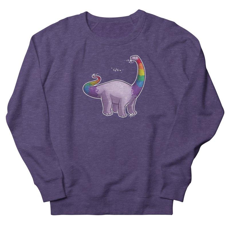 Brontosaurus Pride Women's French Terry Sweatshirt by Marty's Artist Shop