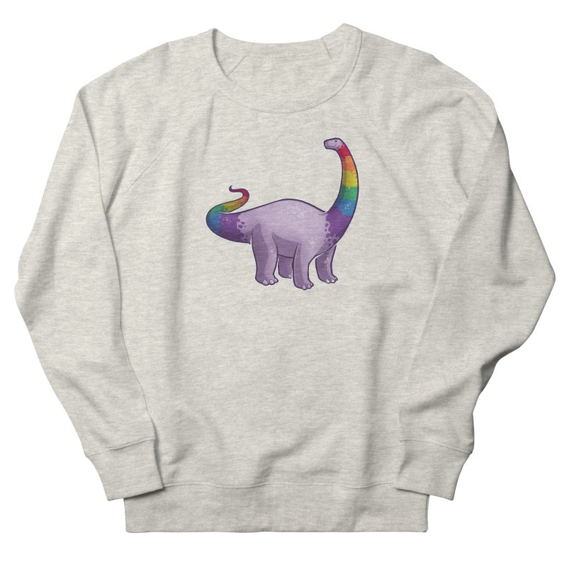 Brontosaurus Pride Women's Sweatshirt by Marty's Artist Shop