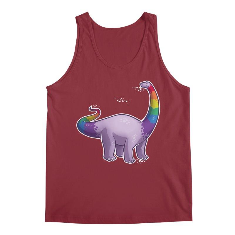 Brontosaurus Pride Men's Regular Tank by Marty's Artist Shop