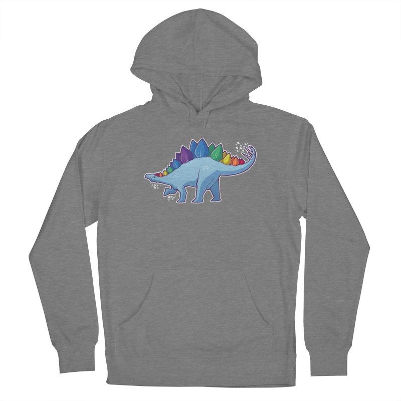 Stegosaurus Pride Women's Pullover Hoody by Marty's Artist Shop
