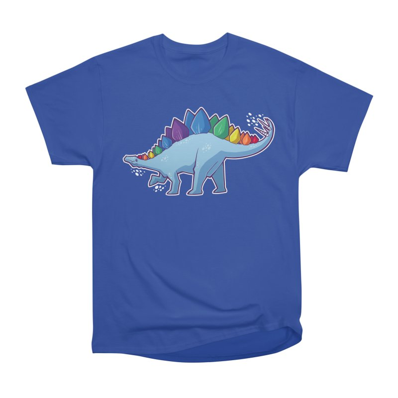 Stegosaurus Pride Women's Heavyweight Unisex T-Shirt by Marty's Artist Shop