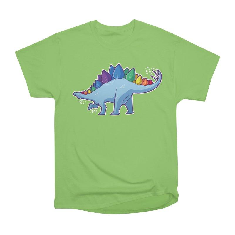 Stegosaurus Pride Men's Heavyweight T-Shirt by Marty's Artist Shop