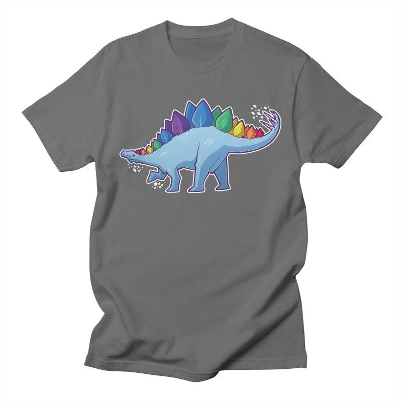 Stegosaurus Pride Men's T-Shirt by Marty's Artist Shop