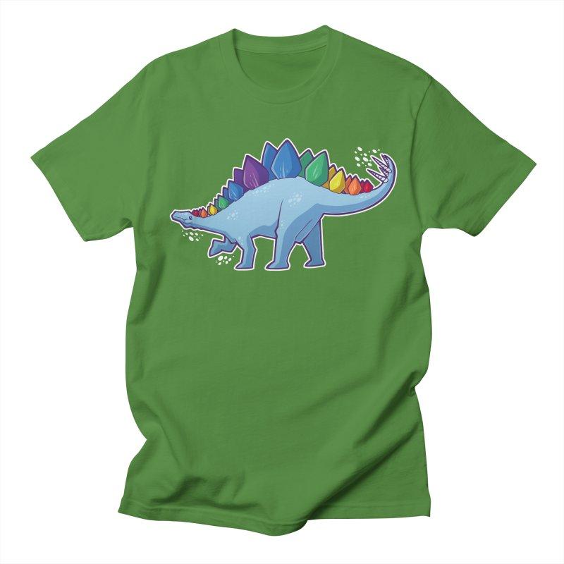 Stegosaurus Pride Women's T-Shirt by Marty's Artist Shop