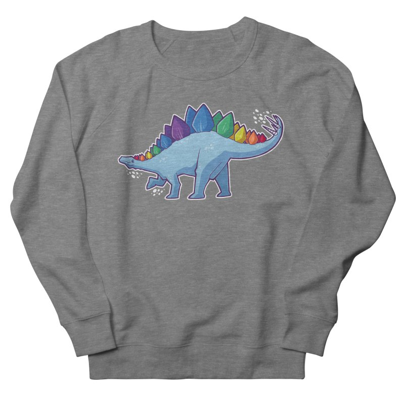 Stegosaurus Pride Women's French Terry Sweatshirt by Marty's Artist Shop