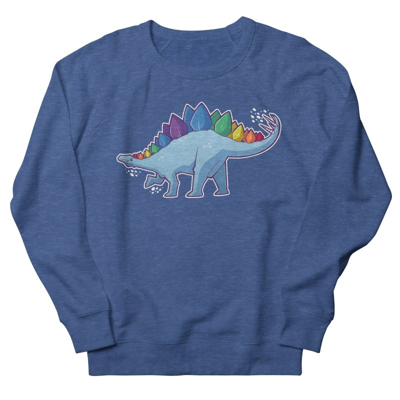 Stegosaurus Pride Men's Sweatshirt by Marty's Artist Shop