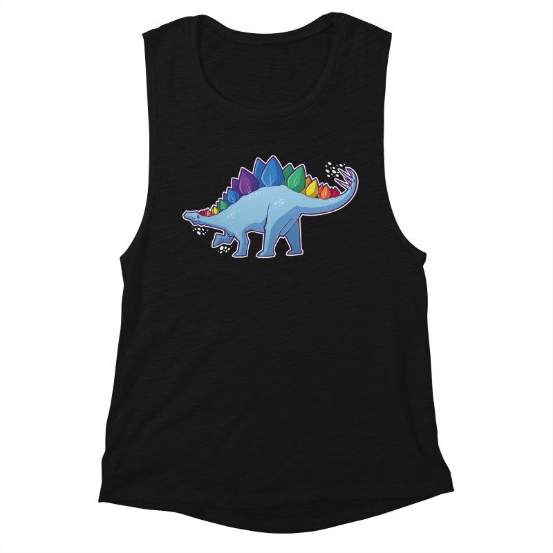 Stegosaurus Pride Women's Tank by Marty's Artist Shop
