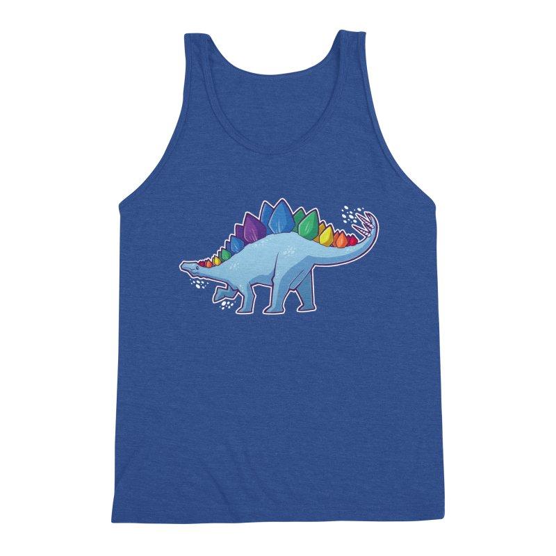 Stegosaurus Pride Men's Tank by Marty's Artist Shop