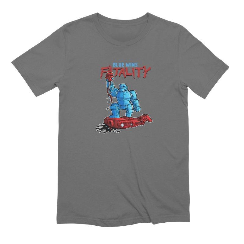 Rock 'Em Sock 'Em Finish 'Em! Men's T-Shirt by Marty's Artist Shop
