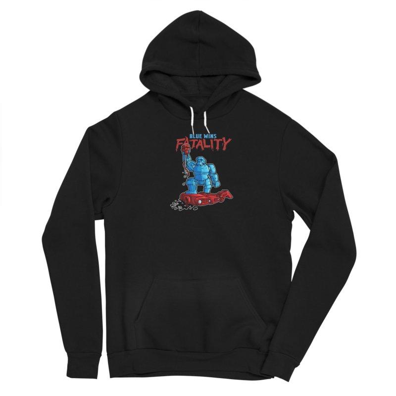 Rock 'Em Sock 'Em Finish 'Em! Women's Pullover Hoody by Marty's Artist Shop