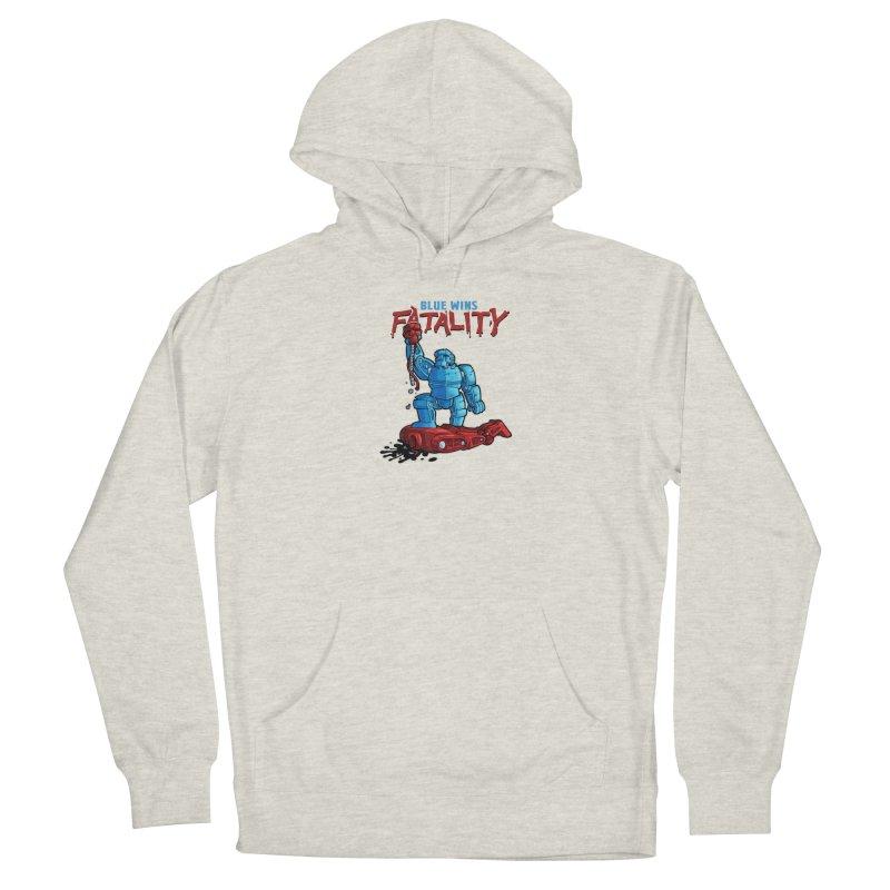 Rock 'Em Sock 'Em Finish 'Em! Men's Pullover Hoody by Marty's Artist Shop