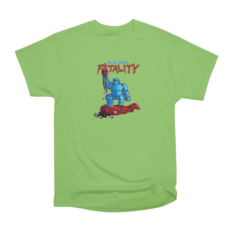 Rock 'Em Sock 'Em Finish 'Em! Women's Heavyweight Unisex T-Shirt by Marty's Artist Shop