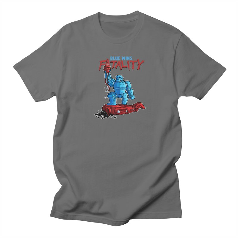 Rock 'Em Sock 'Em Finish 'Em! Men's T-Shirt by Marty's Artist Shop