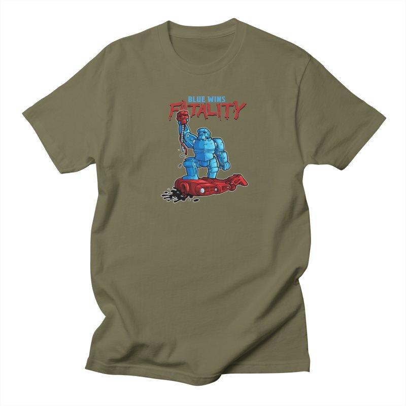 Rock 'Em Sock 'Em Finish 'Em! Women's Regular Unisex T-Shirt by Marty's Artist Shop