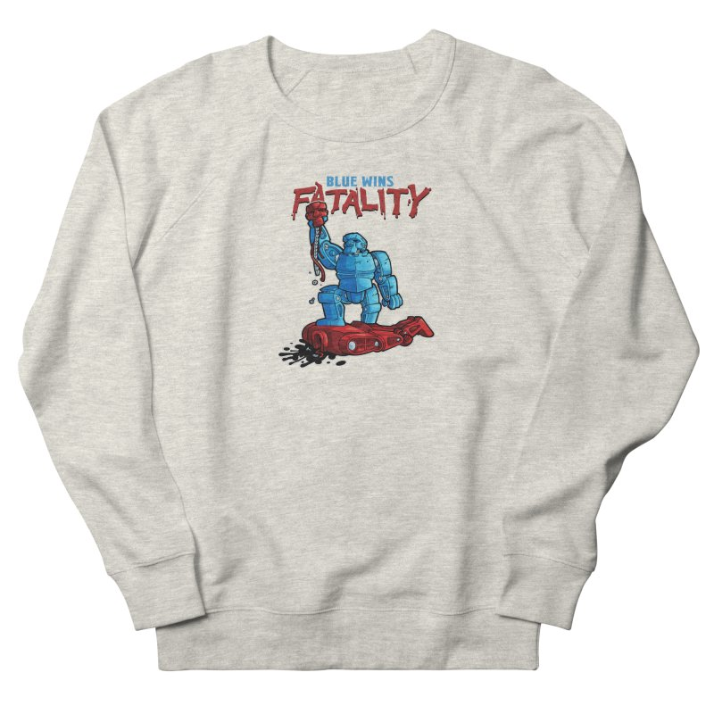Rock 'Em Sock 'Em Finish 'Em! Women's Sweatshirt by Marty's Artist Shop