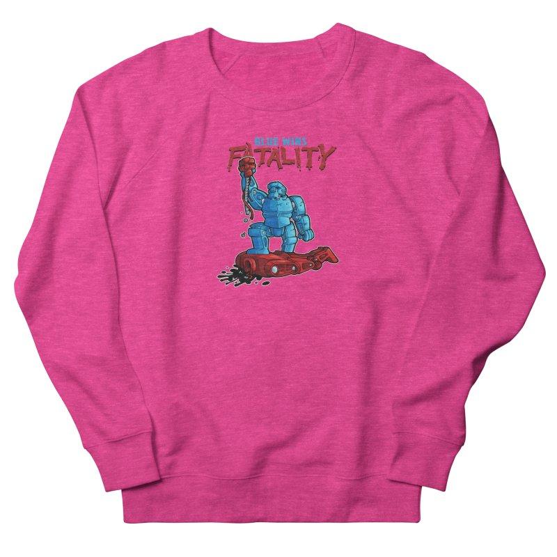 Rock 'Em Sock 'Em Finish 'Em! Men's French Terry Sweatshirt by Marty's Artist Shop